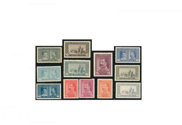 Briefmarke Österreich/ Bosnien Herzegowina 1917 Michel-Nr. 121-123 postfrisch