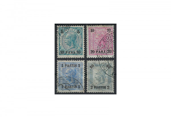 Levante Franz Joseph 1901 Mi.Nr. 39-42 **