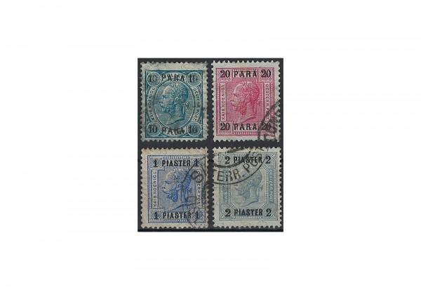 Levante Franz Joseph 1903 Mi.Nr. 43-46 Falz