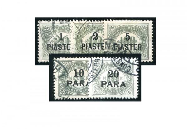 Levante Portomarken Mi.Nr. P 1-5 Falz