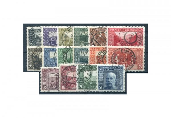 Briefmarken Bosnien/Herzegowina Michel-Nr. 29/44 A gestempelt