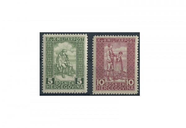 Bosnien-Herzegowina Freimarken 1916 Mi.Nr. 97-98 gest.