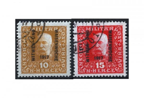Bosnien-Herzegowina Witwen und Waisen 1917 Mi.Nr. 119-120 gest.