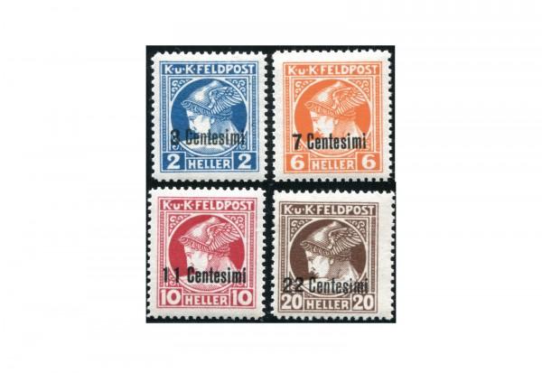 Österreich Feldpost Mi.Nr. 20-23 gest.