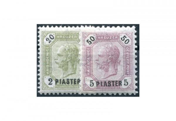 Levante Mi.Nr. 28/29 gestempelt Franz Joseph 1891
