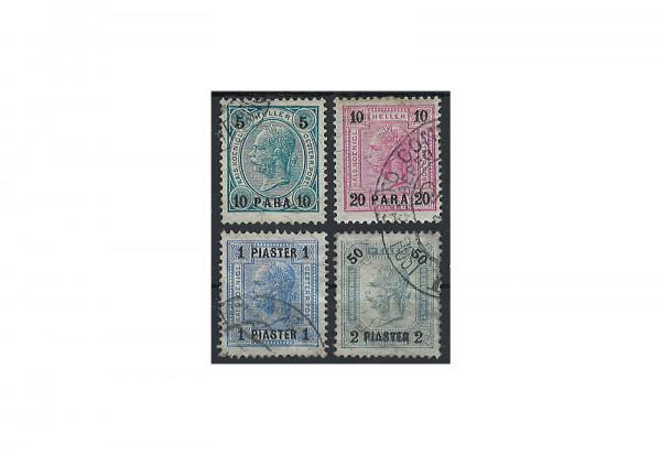 Levante Franz Joseph 1901 Mi.Nr. 39-42 gest.