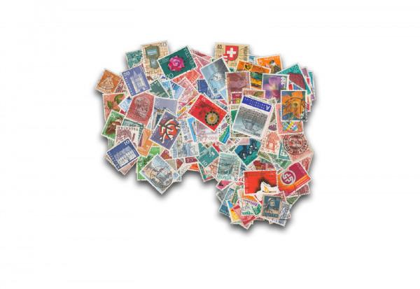 Briefmarken Schweiz 200 verschiedene Marken