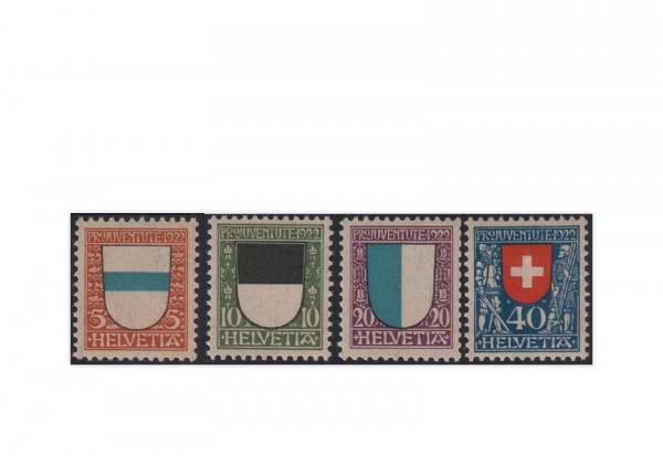 Schweiz Mi.Nr. 175/178 postfrisch