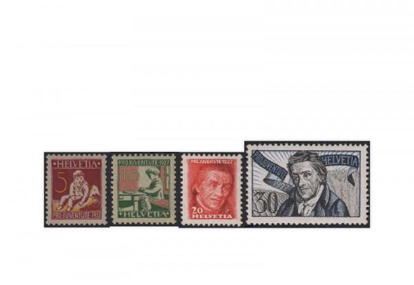 Schweiz Mi.Nr. 222/225 postfrisch Pro Juventute Pestalozzi