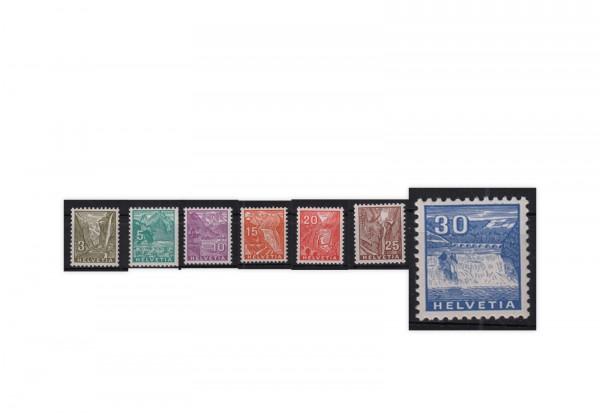 Schweiz Mi.Nr. 270/276 postfrisch Freimarken Landschaftsbilder ZNR 194/200 postfrisch