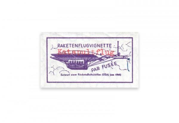 Schweizer Raketenpost 1935 Rheinecker Katapultflug postfrisch