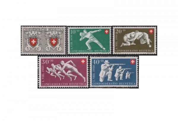 Schweiz Mi.Nr. 545/549 postfrisch Pro Patria