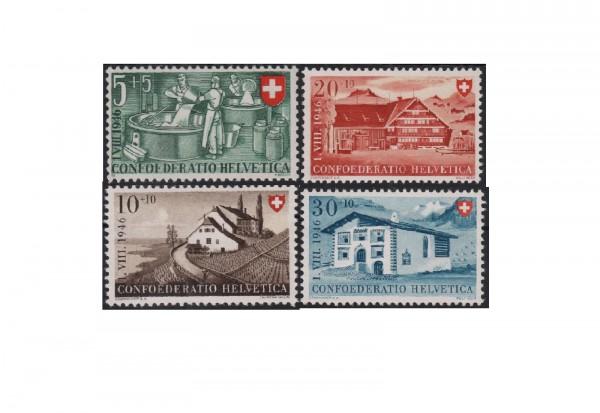 Schweiz Mi.Nr. 471/474 postfrisch Pro Patria