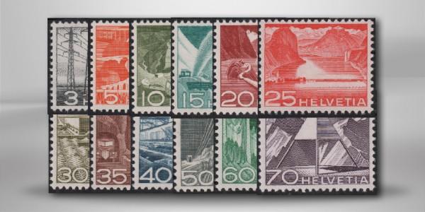 Schweiz Mi.Nr. 529/540 postfrisch Landschaften