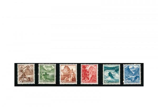 Briefmarken Schweiz Landschaften Michel-Nr. 500 - 505 postfrisch