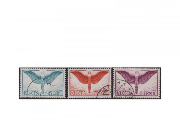 Schweiz Mi.Nr. 189/191 z gestempelt Flugpost