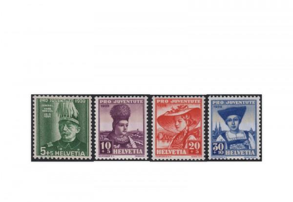 Schweiz Mi.Nr. 359/362 gest. Pro Juventute