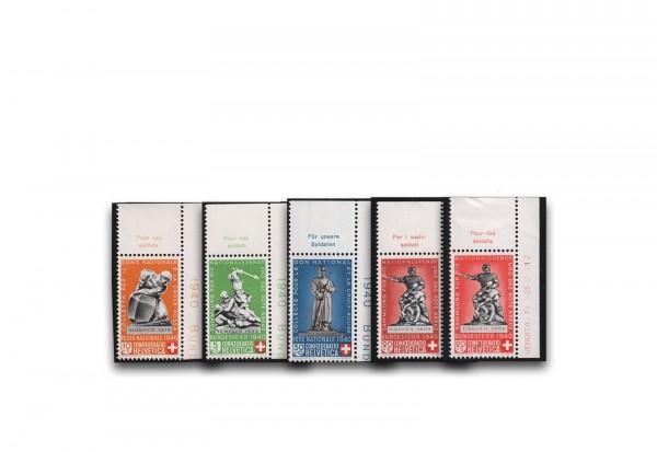 Schweiz Mi.Nr. 364/367 Pro Patria Denkmäler gestempelt