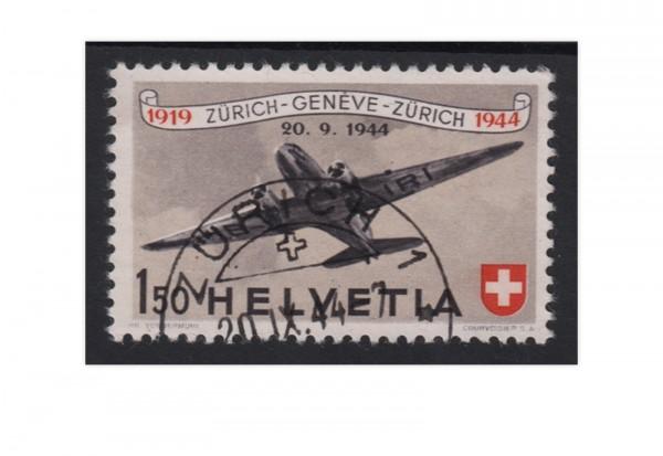 Schweiz Mi.Nr. 438 gestempelt Flugpost