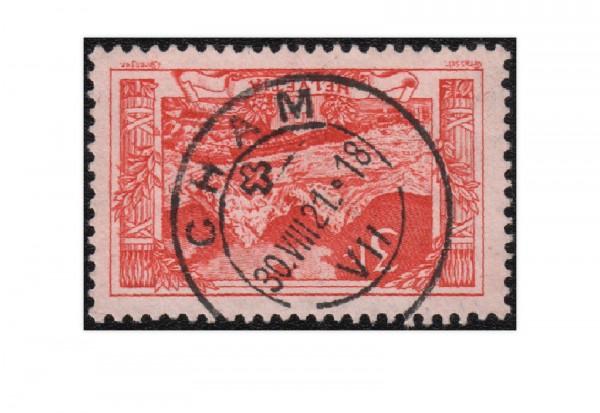 Schweiz Mi.Nr. 142 gestempelt Gebirgslandschaft 1918 ZNR