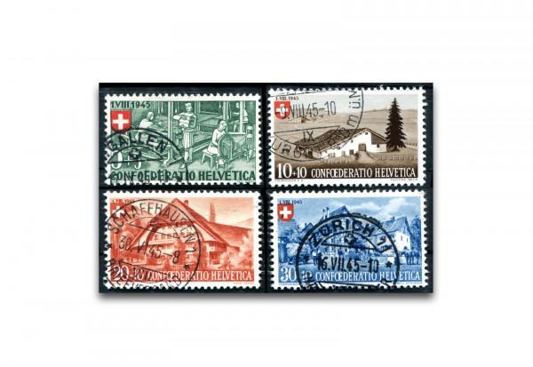 Schweiz Mi.Nr. 431/434 gestempelt
