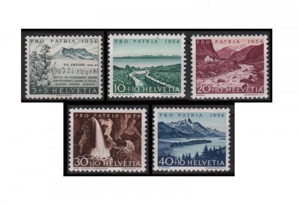 Schweiz Pre Patria Michel Nr. 597/602 gestempelt