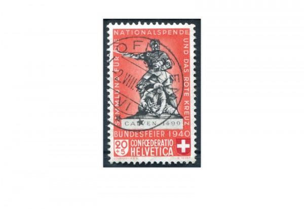 Schweiz Mi.Nr. 366 a Pro Patria 1940 gestempelt