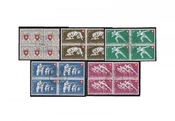 Schweiz Mi.Nr. 545/549 VB gestempelt