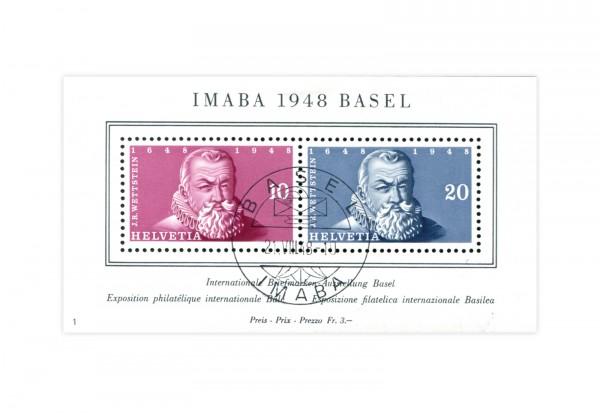 Schweiz Block 13 IMABA 1948 gestempelt