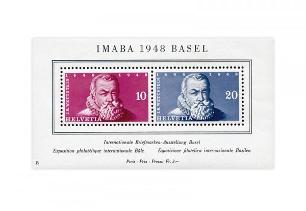 Schweiz Block 13 IMABA 1948 postfrisch