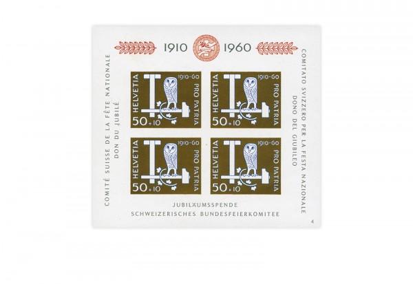 Schweiz Block 17 Pro Patria 1960 postfrisch