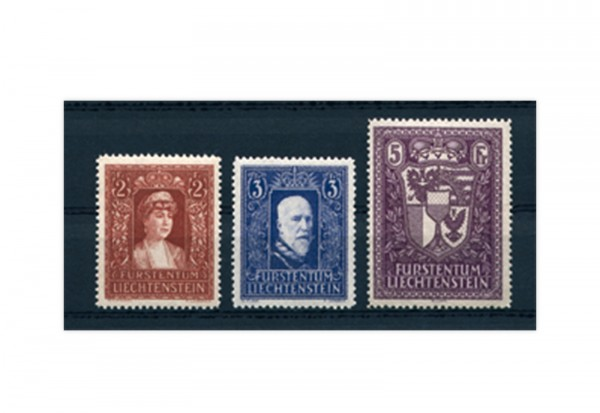 Liechtenstein Mi.Nr. 140/42 **