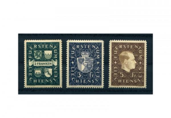 Liechtenstein Frühausgaben Michel 183 / 85 postfrisch