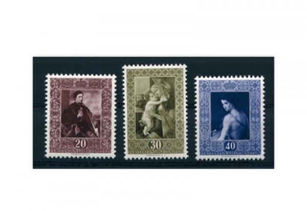 Liechtenstein Frühausgaben Michel 306 / 8 postfrisch