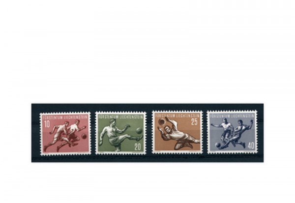 Liechtenstein Frühausgaben Michel 322 / 25 postfrisch