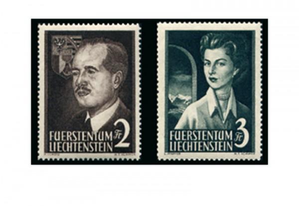 Liechtenstein Frühausgaben Michel 332 / 33 postfrisch