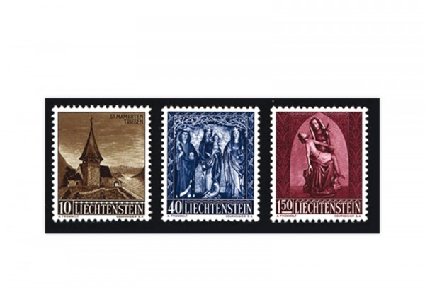Liechtenstein Frühausgaben Michel 362 / 4 postfrisch