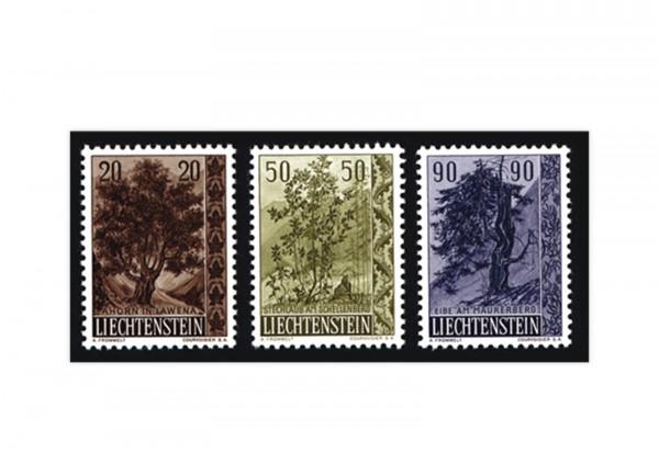 Liechtenstein Frühausgaben Michel 371 / 3 postfrisch