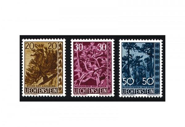 Liechtenstein Frühausgaben Michel 399 / 401 postfrisch
