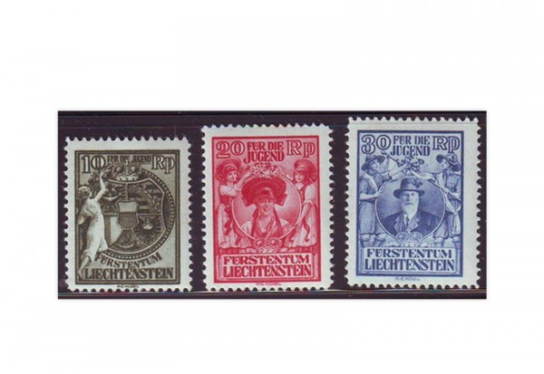 Liechtenstein Mi.Nr. 116/118 **