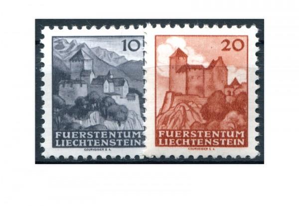 Liechtenstein Schlösser und Burgen 1943 Mi.Nr. 222/223 postfrisch
