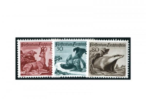 Liechtenstein Jagd (III) 1950 Mi.Nr. 285/287 postfrisch