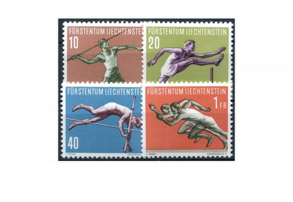 Liechtenstein Sport (III)1956 Mi.Nr. 342/345 postfrisch