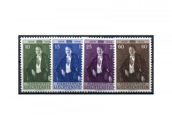 Liechtenstein Frühausgaben 1956 Mi.Nr. 348/351 postfrisch