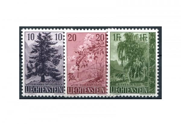 Liechtenstein Frühausgaben 1957 Mi.Nr. 357/359 postfrisch