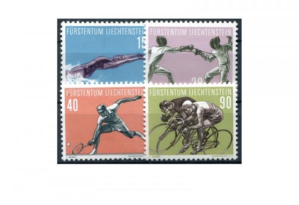 Liechtenstein 1958 Mi.Nr. 365/368 postfrisch