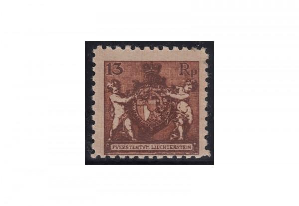 Liechtenstein Landeswappen 1921 Mi.Nr. 51 A ** mit Fotoattest