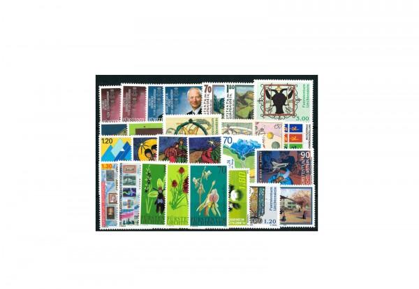 Briefmarken Liechtenstein 2002 Michel-Nr. 1283 - 1309 postfrisch