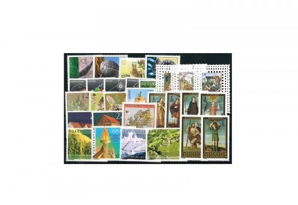 Briefmarken Liechtenstein 2004 Michel-Nr. 1339 - 1367 postfrisch