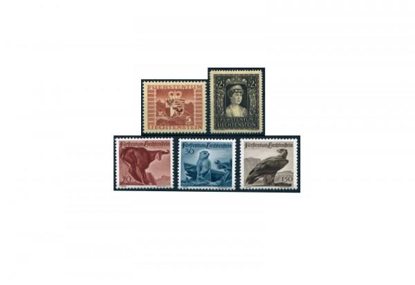 Liechtenstein Jahrgang 1947 postfrisch